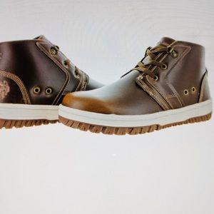 US POLO Boot Men's Bruno Chukka Leather NWT 8.5M
